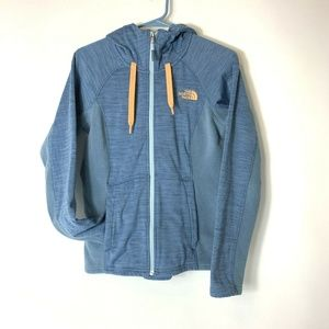 The North Face Full Zip Jacket Womens Small Blue
